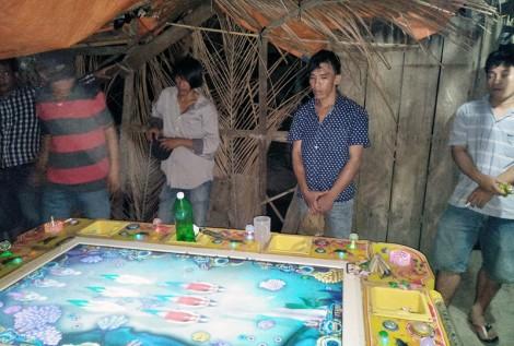 Bắt quả tang tụ điểm đánh bạc trá hình bằng game bắn cá