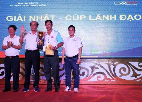 Sôi nổi Giải Quần vợt Mekong ICT lần thứ VII
