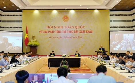 Khai mạc Hội nghị tìm giải pháp tổng thể thúc đẩy xuất khẩu