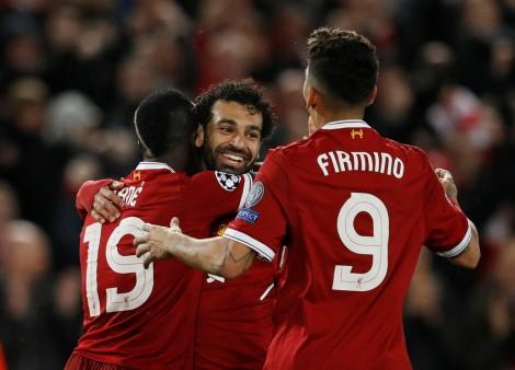 Salah rực sáng, Liverpool đè bẹp Roma 5-2 tại Anfield
