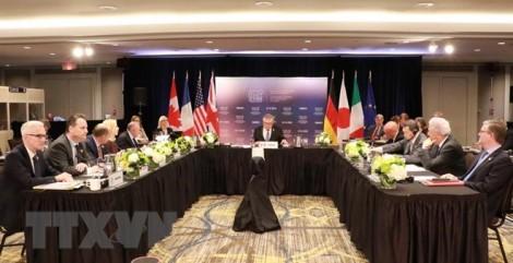 Các Bộ trưởng An ninh G7 thảo luận về thách thức an ninh toàn cầu