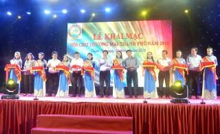 Khai mạc Hội chợ thương mại huyện Thạnh Phú năm 2018
