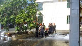 Diễn tập phòng cháy chữa cháy