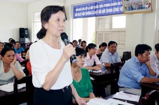 382 cán bộ, giáo viên tiểu học tập huấn nâng cao năng lực trong giảng dạy