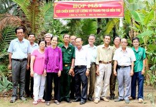 Họp mặt cựu chiến binh lực lượng vũ trang thị xã Bến Tre