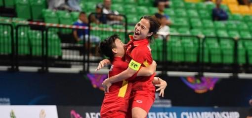 Tuyển futsal nữ Việt Nam thắng trận mở màn giải châu Á 2018
