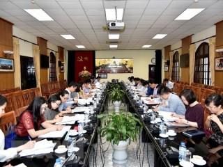Họp Ban Tổ chức Hội nghị Diễn đàn Kinh tế thế giới về ASEAN 2018