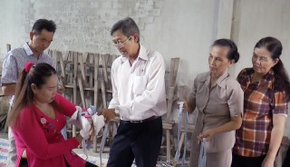 Mỏ Cày Bắc tập huấn kỹ thuật sơ cấp cứu cho tình nguyện viên