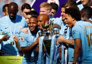 M.C đăng quang ngôi vô địch Premier League