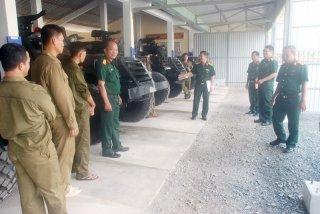 Quân khu 9 kiểm tra công tác an toàn vệ sinh lao động
