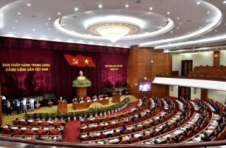 Thông cáo báo chí ngày làm việc thứ năm Hội nghị Trung ương 7 khoá XII
