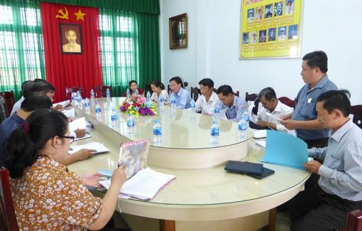 Khảo sát kết quả 5 năm thực hiện Nghị quyết số 29-NQ/TW tại huyện Giồng Trôm