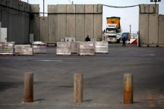 Israel đóng cửa khẩu với Gaza