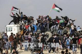 Đụng độ bùng phát tại biên giới Gaza - Israel, nhiều người bị thương