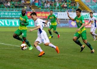 Vòng 8 V-League: Hoàng Anh Gia Lai và Cần Thơ chia điểm