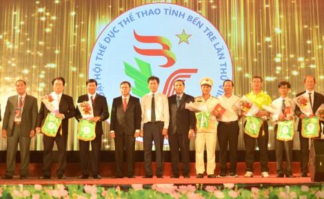 Khai mạc Đại hội Thể dục thể thao tỉnh lần thứ VIII