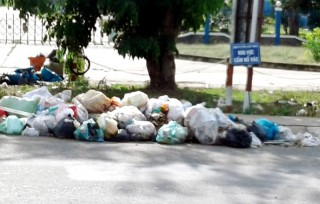 Khu phố 1, thị trấn Châu Thành: Trạm trung chuyển rác gây ô nhiễm môi trường