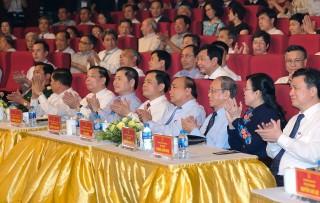 """Thủ tướng dự chương trình """"Chung tay vì một xã hội an toàn trước thiên tai"""""""