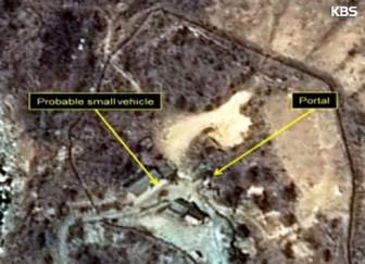 Phóng viên Hàn Quốc đến Triều Tiên đưa tin lễ phá hủy bãi thử hạt nhân