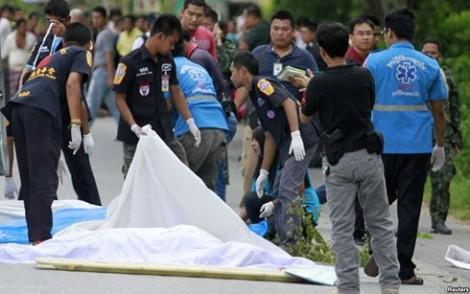 Một loạt vụ đánh bom ở miền Nam Thái Lan vào dịp lễ Ramadan