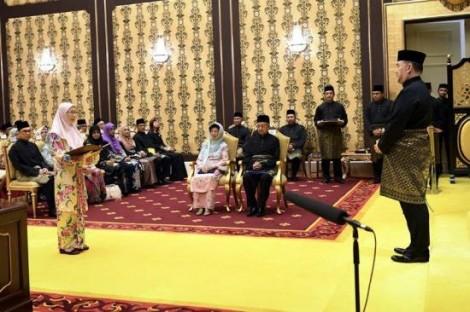 Nội các mới của Malaysia tuyên thệ nhậm chức