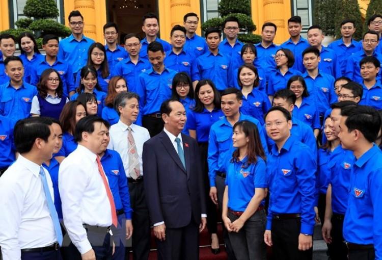 Chủ tịch nước gặp mặt đại biểu thanh niên Khối các cơ quan Trung ương