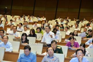 Đại biểu Quốc hội Lưu Bình Nhưỡng góp ý Luật Quốc phòng (sửa đổi)