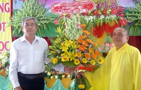 Thạnh Phú: Tổ chức Đại lễ Phật đản Phật lịch 2562 - Dương lịch 2018