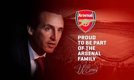 Arsenal bổ nhiệm HLV Emery thay Wenger