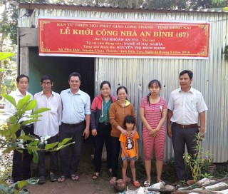 Phú Đức: Thêm 1 nhà tình thương cho hộ nghèo
