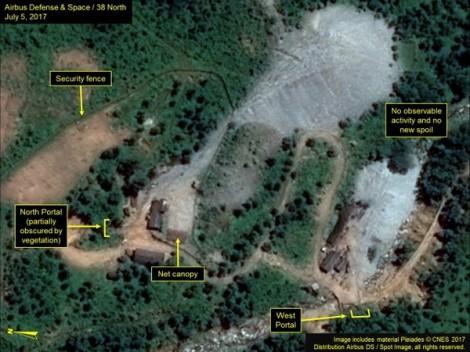 Triều Tiên hoàn thành việc dỡ bỏ bãi thử hạt nhân Punggye-ri