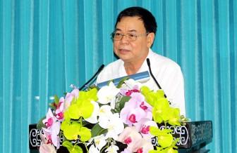 Tỉnh ủy họp mặt cán bộ hưu trí chủ chốt thường kỳ 6 tháng đầu năm 2018
