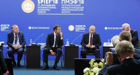 Thỏa thuận hạt nhân Iran và tình hình Triều Tiên làm nóng SPIEF-2018