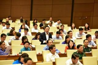 Đại biểu Quốc hội Lưu Bình Nhưỡng phát biểu thảo luận về kinh tế - xã hội