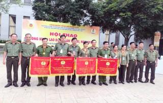 Công đoàn Công an tỉnh đạt giải Ba toàn đoàn tai Hội thao Công đoàn Công an nhân dân khu vực phía Nam