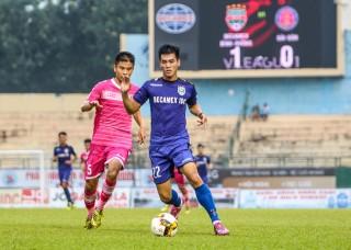 Tiền đạo U20 Việt Nam lập poker, B.Bình Dương chiếm ngôi nhì V-League