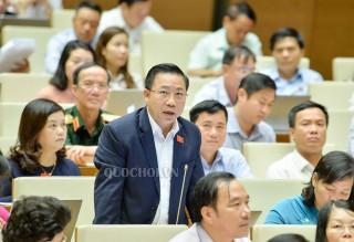 Đại biểu Quốc hội đơn vị tỉnh Bến Tre chất vấn Bộ trưởng Bộ Giao thông vận tải