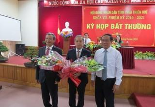 Ông Phan Ngọc Thọ được bầu làm Chủ tịch UBND tỉnh Thừa Thiên - Huế
