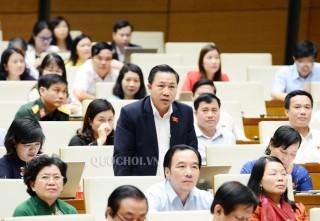 Đại biểu Quốc hội đơn vị tỉnh chất vấn Bộ trưởng Bộ Lao động - Thương binh và Xã hội