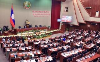 Kỳ họp thứ 5 Quốc hội Lào thảo luận nhiều vấn đề quan trọng