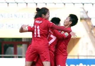 Hà Nội vô địch lượt đi Giải bóng đá nữ Vô địch quốc gia 2018