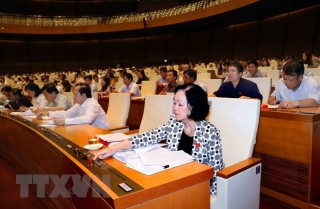Quốc hội sẽ xem xét biểu quyết thông qua 2 nghị quyết, 3 dự luật