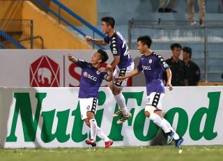 Thắng Than Quảng Ninh 4-1, Hà Nội không có đối thủ sau lượt đi
