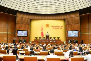 Thông cáo số 20 Kỳ họp thứ 5, Quốc hội khóa XIV