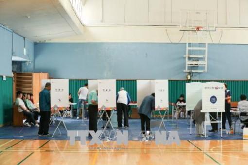 Đảng cầm quyền Hàn Quốc thắng vang dội trong bầu cử địa phương