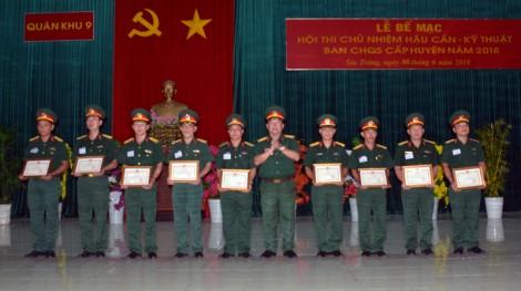 Đại úy Hồ Hoài Linh: Tận tâm trong công tác hậu cần - kỹ thuật