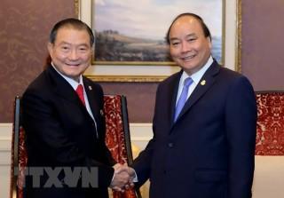 Thủ tướng Nguyễn Xuân Phúc tiếp Chủ tịch Tập đoàn ThaiBev