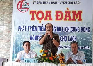 Phát triển tiềm năng du lịch cộng đồng homestay huyện Chợ Lách