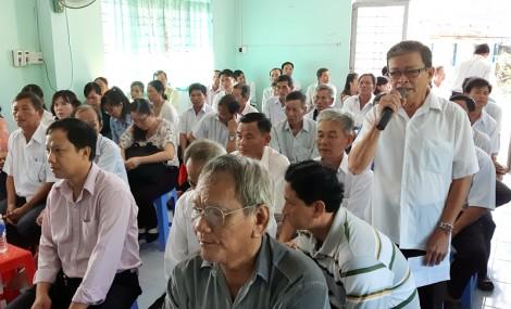 Từ ngày 20 đến 22-6-2018: Đoàn Đại biểu Quốc hội tỉnh tiếp xúc cử tri các huyện, thành phố