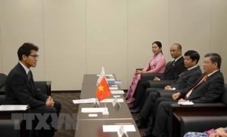 Chủ nhiệm Ủy ban Đối ngoại Quốc hội thăm và làm việc Nhật Bản